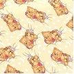 Сонные мишки Бежевый
